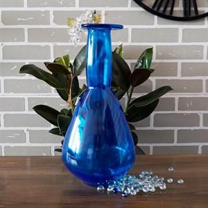 Ваза бутылка 2981 лазурь