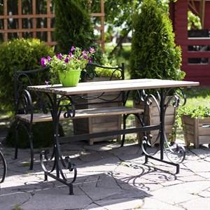 Стол с деревом садовый 881-61R