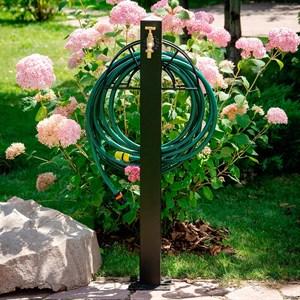 Колонка садовая с держателем шланга 54-635