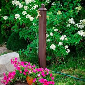 Колонка садовая металл стойка 55-101