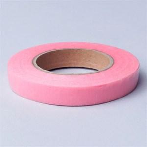 Тейп Лента 13мм*28м розовая К