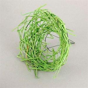 Каркас для букета 25 см ротанг гнездо зеленый