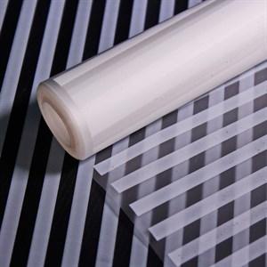 Пленка матовая 700 Полоса вертикаль белый