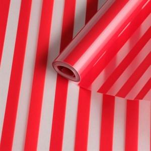 Пленка матовая 700 Полосы красный