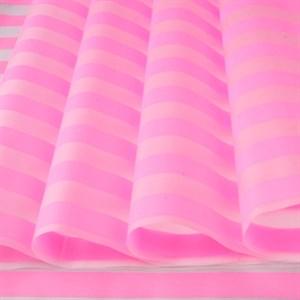 Пленка матовая 700 Полосы розовый