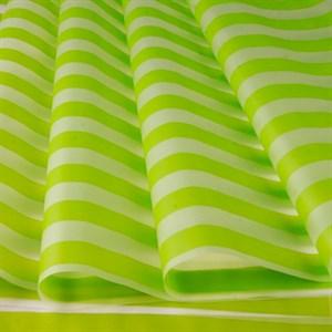 Пленка матовая 700 Полосы салатовый