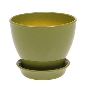 Горшок КСЕНИЯ 3 3л оливковый