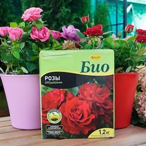 Удобрение БИО Розы и цветущие 1,2кг гранулы