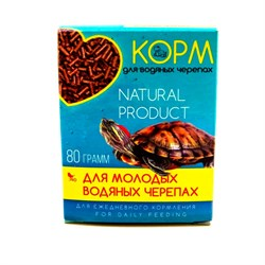 Корм Био для водяных черепах со спирулиной 70г