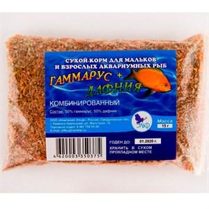 Корм Дафния+Гаммарус для рыб 15 г