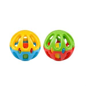 Игрушка Мяч с колокольчиком 3,5см пластик SL005