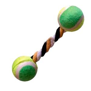 Игрушка 2 мяча теннисных на веревке R0050