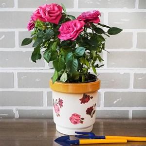 Горшки для цветов СЕМЕЙКА №4 (декупаж)