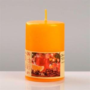 Свеча ароматическая 4х6см теплый глинтвейн