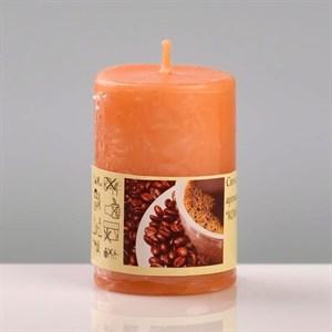 Свеча ароматическая 4х6см кофе