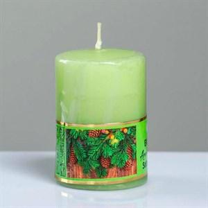 Свеча ароматическая 4х6см хвойный лес
