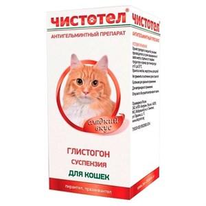 Глистогон ЧИСТОТЕЛ для кошек 5мл