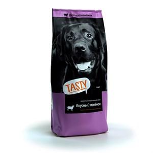 Корм Тэсти для собак 15кг ягненок