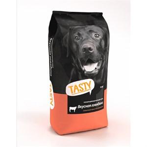 Корм Тэсти для собак 2,2кг говядина