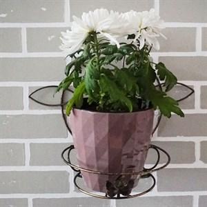Подставка настенная на 1 цветок