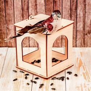 Кормушка для птиц Фонарик сборная