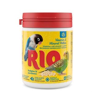 Корм РИО Витаминно-минеральные гранулы для волнистых 120г