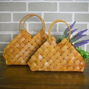 Набор корзин плет секвойя 28*10-25*6,5 см 2шт натурал.
