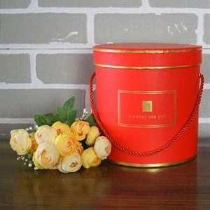 Коробка Шарлиз 17,5*17,8 см красный
