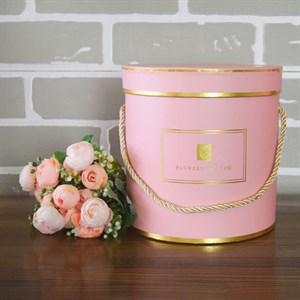 Коробка Шарлиз 17,5*17,8 см розовый