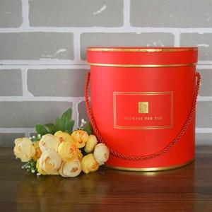 Коробка Шарлиз 20*20 см красный