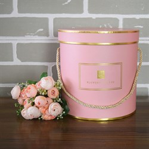 Коробка Шарлиз 20*20 см розовый
