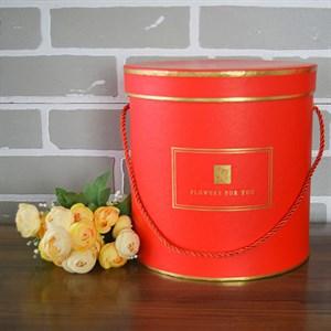 Коробка Шарлиз 22,5*22,5 см красный