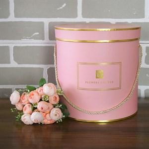 Коробка Шарлиз 22,5*22,5 см розовый