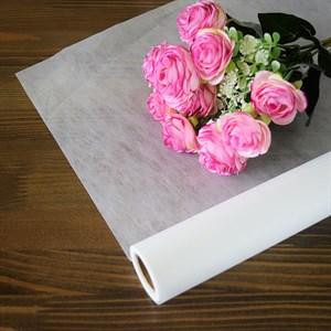 Упак. материал Шелковолокно 59 см * 10 м белый