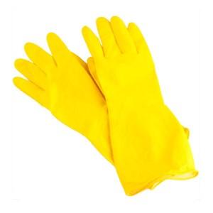 Перчатки хозяйственные с х/б напылен. (M)