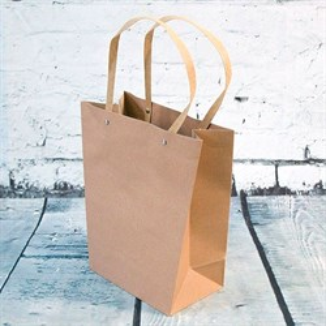 Коробка-сумка для цветов и подарка 25*12*28см