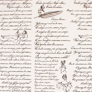 Пленка в рулоне 700 Пушкинские строки черный