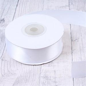 Лента атлас 50мм х 25 ярд белая