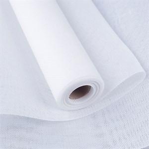 Лен искусственный 47см*4,5м белый