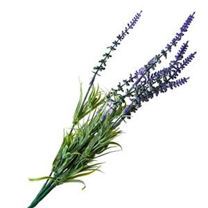 Цветок искуственный Лаванда 38см