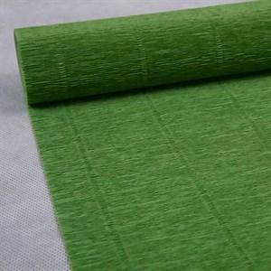 Бумага гофрированная простая фисташковая 180г 562