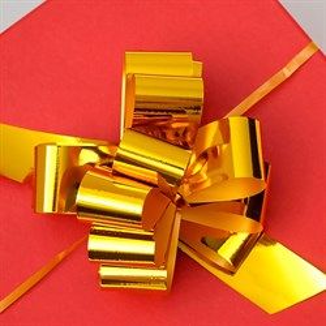 Бант Шар 32мм металл золотой