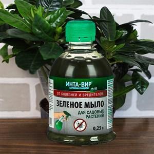 Удобрение Инта-Вир Зеленое Мыло 250мл