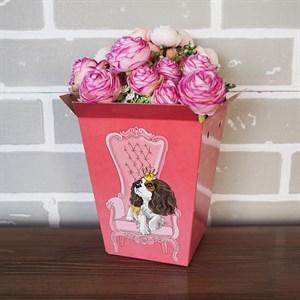Плайм пакет для цветов 150*120/90 Питомцы Спаниель
