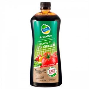 Удобрение ОрганикМикс Эликсир №1 для овощей 0,25л