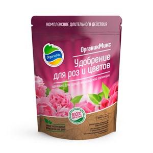 Удобрение ОрганикМикс для роз и цветов 200г