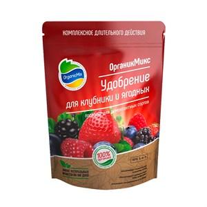 Удобрение ОрганикМикс для клубники и ягодных 200г