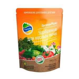 Удобрение ОрганикМикс для кислых почв 850г
