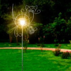 Шпалера с фонарем Кошка 57-413