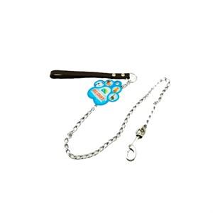 Поводок цепочка с ручкой 3мм*100см SHL 3010